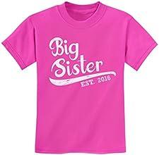 TeeStars - Big Sister Est 2016 - Sibling Gift Idea Kids T-Shirt