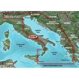 Garmin Bluechart G2 HXEU014R - Italy Adriatic Sea - Micro SD & SD