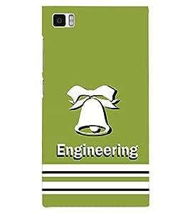 PRINTSHOPPII ENGINEERING GHANTA Back Case Cover for Xiaomi Redmi Mi3::Xiaomi Mi 3
