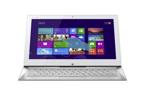 Sony VAIO Duo SVD13215PXW 13.3-Inch Convertible 2-in-1 Touchscreen Ultrabook (Carbon White)