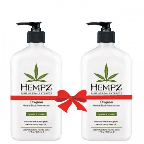 Hempz Original Herbal Body Moisturizer 17 oz (2-Pack)