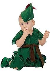 Baby Boy Infant Peter Pan Costume, Green