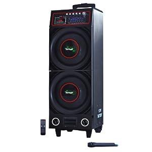 emb pk210 portable bluetooth karaoke dj boom box dual 10 speaker plays sd tf. Black Bedroom Furniture Sets. Home Design Ideas