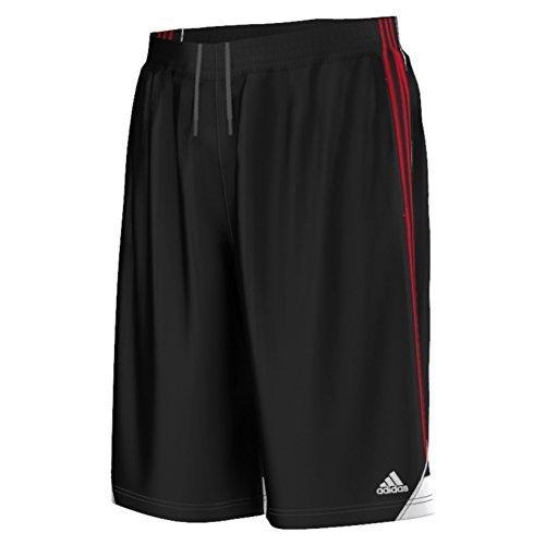 adidas Performance Men's 3G Speed 2.0 Shorts, Large, Black/Scarlet Adidas Climalite Shorts