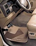 Husky Liners Custom Fit Heavy Duty Rubber Front Floor Mat - Pack of 2 (Tan)