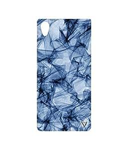 Vogueshell Line Pattern Printed Symmetry PRO Series Hard Back Case for Sony Xperia M4 Aqua