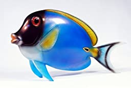 Handpainted Tropical Fish Statue Replica 13\