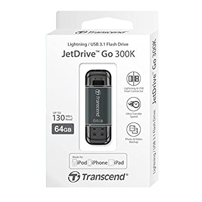Transcend 64GB JetDrive Go 300 Black