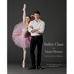 Ballet Class with Venti Petrov