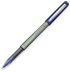 Pilot BeGreen Precise V5 Rolling Ball Pens, Extra Fine Point, Blue Ink, Dozen Box (26301)