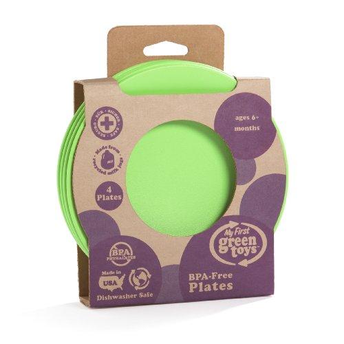 Green Toys BPA-Free Feeding Plate