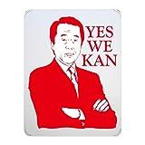 【菅直人】YES WE KAN iPadシェルケース (クリア)