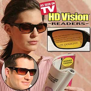 HD Readers- Black1.5 Vision UV Sunglasses
