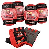 Disney Pixars Cars the Movie Pad Set (Gloves , Knee & Elbow Pads). Age: 3 +
