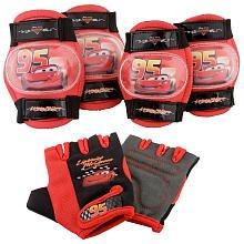 Disney Pixar's Cars the Movie Pad Set (Gloves , Knee & Elbow Pads). Age: 3 +