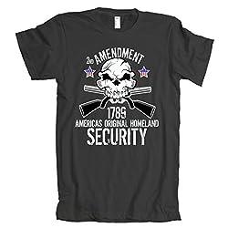 2nd Amendment 1789 Homeland Security American Apparel T-Shirt