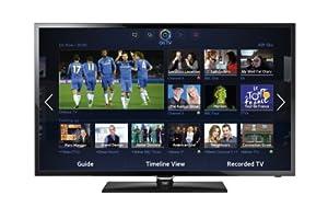 Samsung UE46F5300AKXXU 46-inch Widescreen Full HD 1080p Slim LED TV (100Hz CMR, SMART, Dual-Core, Wi-Fi (Dongle required))