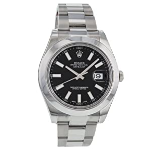 Rolex Datejust II Oyster Perpetual 116300 Stainless Steel Automatic Men's Watch