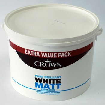 Crown 7.5L Matt Brilliant White