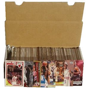 Baseball Card Collector Box With Over 500