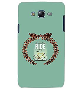 PrintDhaba QUOTE D-7040 Back Case Cover for SAMSUNG GALAXY J5 (Multi-Coloured)
