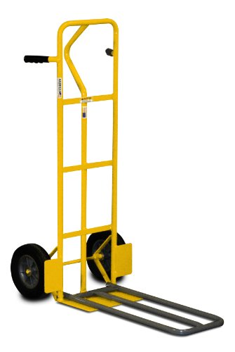 Extendable Hand Truck : American cart equipment hand truck with fold down foot