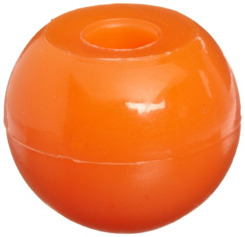 Molecular Models Orange Plastic Halogen Monovalent Atom Center, 17mm Diameter (Pack of 10)