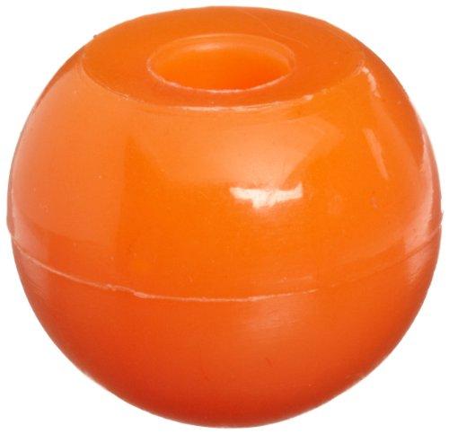 Molecular Models Orange Plastic Halogen Monovalent Atom Center, 17mm Diameter (Pack of 10)