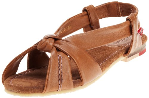 Kickers Women's Nehasandal Lthr Tan Slingback Flat 1-10157 3 UK