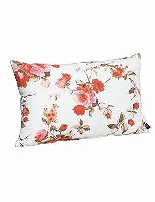 Madison 7PIL3F083 Meike Zierkissen 40 x 60 cm, Dessin Blume 75% Baumwolle 25% Polyester, coral von Madison - Gartenmöbel von Du und Dein Garten
