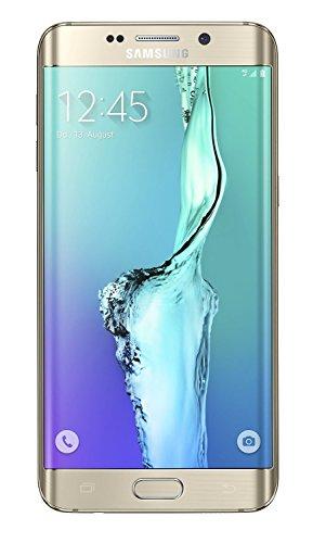 Samsung Galaxy S6 edge +, Smartphone Movistar Entriegelt (5,7 Zoll (14,39 cm) Touch-Display, 32 GB Speicher, Android 5.1) gold-platinum