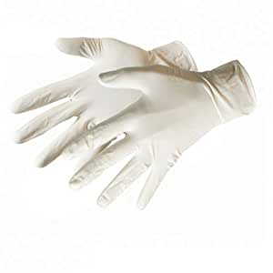 Silverline 980918 Lot de 100 Gants latex Grande taille