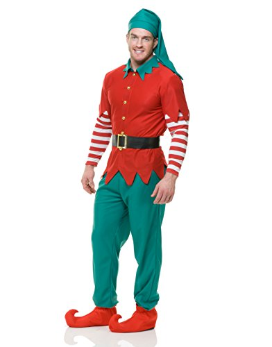 Elf Adult Costume Santas Helper Mens or Womens