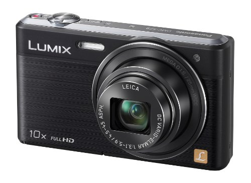 Panasonic Lumix DMC-SZ9EB-K Compact Camera - Black (16.1MP, Wi-Fi, 25mm Wide Angle Lens, Full HD Video Recording) 3 inch LCD