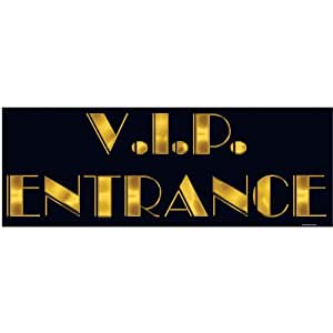 PMU VIP Entrance Sign Party Accessory