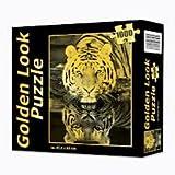 Produktbild von Puzzle - Tiger 1000 Teile Golden Look Puzzle, 47, 5 x