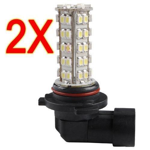 2X Hb4 9006 68 Smd Led White Car Fog Day Running Driving Light Bulb Lamp 12V New
