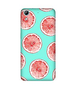 Pink And Blue HTC Desire 826 Case