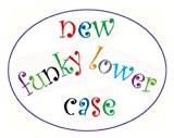 FMM Lower Case Funky Alphabet Tappit Cutters Set