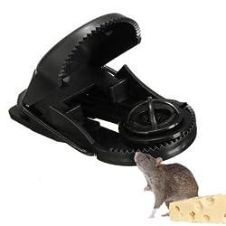 10pcs ABS Plastic Reusable Mouse Traps Rodent Catcher Garden Pest Control Tool -