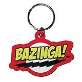 Big Bang Theory - Schlüsselanhänger Bazinga (in 4,5 cm x 6 cm)