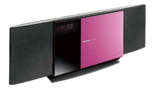Panasonic D-dock コンパクトステレオシステム ピンク SC-HC30-P
