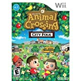 NEW Animal Crossing City Folk Wii (Videogame Software)