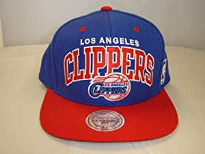 Mitchell and Ness Los Angeles Clippers Adjustable Fit Snapback Cap by Mitchell & Ness