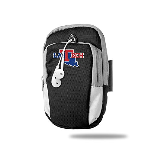 BENS Louisiana Tech University Bulldogs Armband Arm Bag Package For Sports Running For Iphone Samsung Galaxy Key Money (Ga Bulldogs Belt compare prices)
