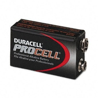 Duracell Procell 9 Volt Batteries, 12 Pack, PC1604