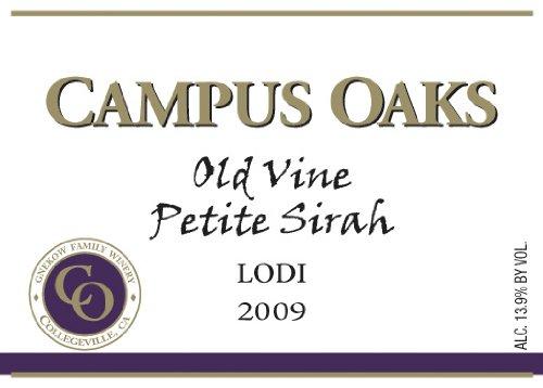 2009 Gnekow Family Winery Campus Oaks Petite Sirah 750Ml