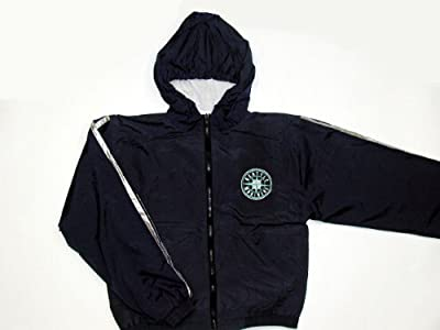 Seattle Mariners MLB Embroidered Full Zip Hooded Boys Jacket