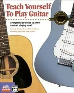 TEACH YOURSELF TO PLAY GUITAR (WIN 9598MENT2000XP/MAC 7.1-9.X (CLASSIC))