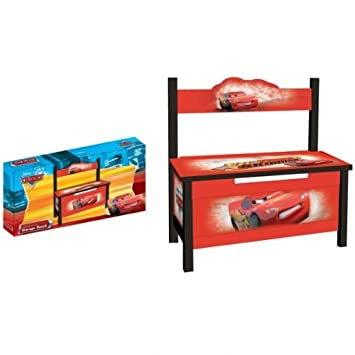 kinder sitzbank disney cars kinderbank bank kinderm bel holz da2. Black Bedroom Furniture Sets. Home Design Ideas
